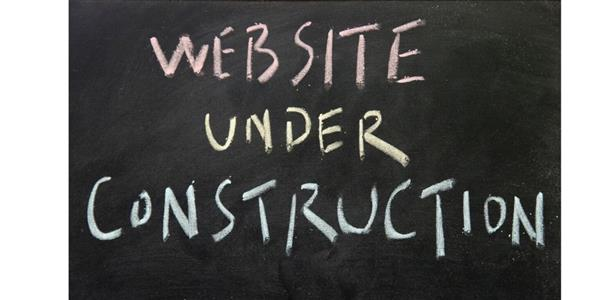 website under contstruction